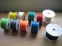 Rolls of filament, ready for the supply cabinet